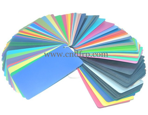 PP colorful sheets